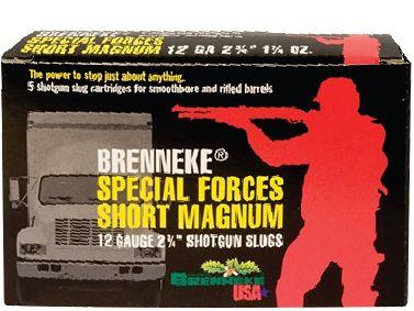 Brenneke Special Forces Short Magnum 12/70, 34g