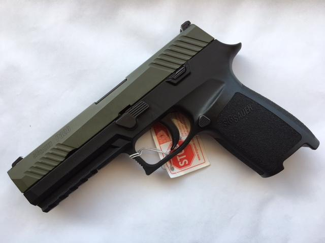 P320 Full-Size CERAKOTE GREEN