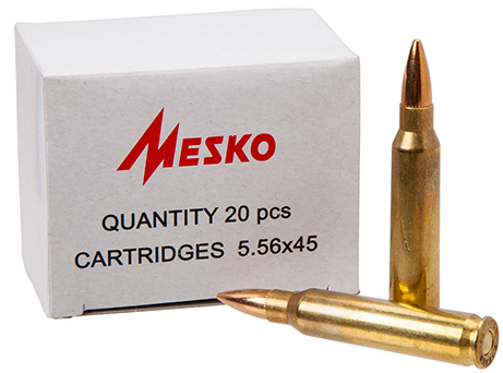 Mesko .223Remington 5,56x45 FMJ 3,6g - 55 grs.