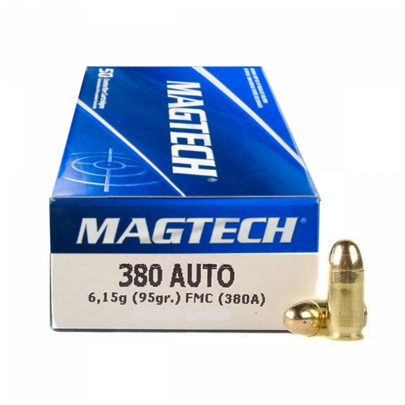 Magtech 380 Auto - 9mm Browning (380A) FMJ 95gr