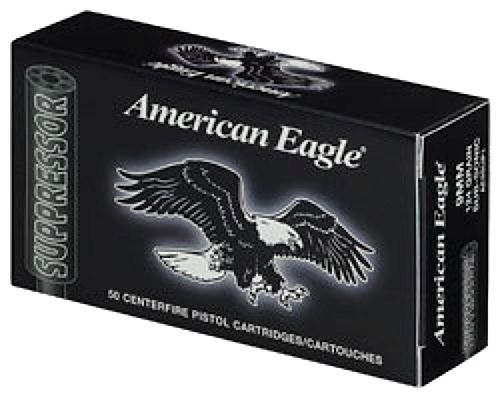 Federal .22LR, Am.Eagle Suppressor Subsonic 45gr.