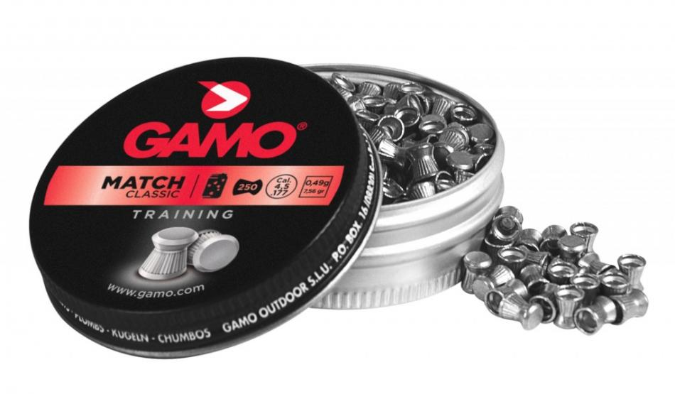 Gamo Match, 4,5mm (.177), 250ks