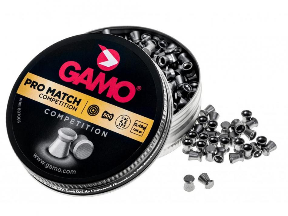 Gamo Pro Match, 4,5mm (.177), 500ks
