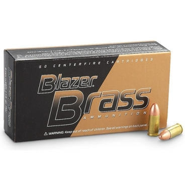 CCI Blaser Brass, 9mm Browning , 95GR, FMJ